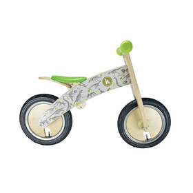 Kiddimoto Kurve Kids Push Bikes Children grey/green